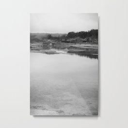 Reflecting Metal Print