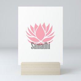 Samadhi - 8 limbs of yoga Mini Art Print