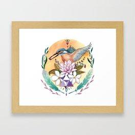 Merkabah Framed Art Print