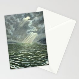 Sunbeams and Rolling Seas Stationery Cards