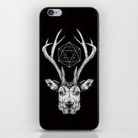 stag iPhone & iPod Skins featuring Stag by Andy Christofi