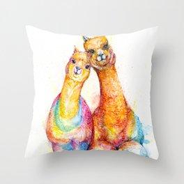 Packa'Alpaca Throw Pillow