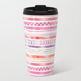 Multi-Colored Tribal Pattern One Travel Mug