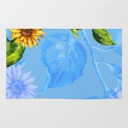 Sunflower's Glory Rug
