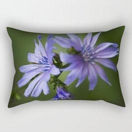 Chicory Flowers Rectangular Pillow