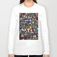 legend of zelda Long Sleeve T-shirts featuring The Legend of Zelda by Sandra Ink