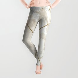 Gold & Marble 01 Leggings