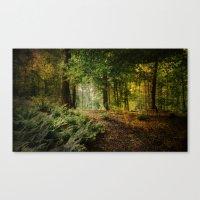 woodland Canvas Prints featuring Woodland by ZenaZero