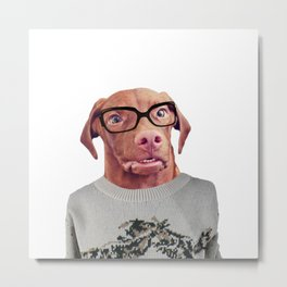 Hi my name is Larry and I work in tech. Metal Print