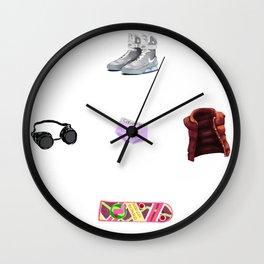 Character bits Wall Clock