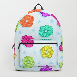 Scruchie Pattern Backpack