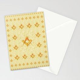 Freemason Symbolism Stationery Cards