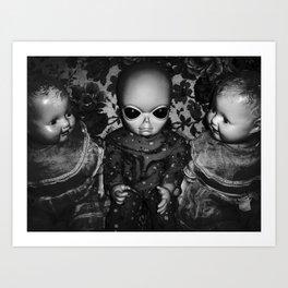 Alien Baby Art Print