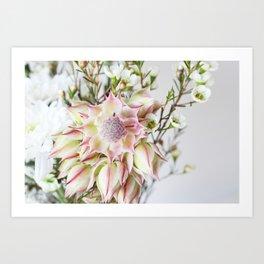 The Blushing Bride Art Print