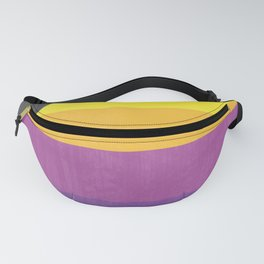 And Now The Weather - Retro Lines Fanny Pack