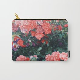 Psychedelic summer florals Carry-All Pouch