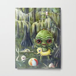 Baby Creature from the Black Lagoon Metal Print