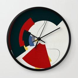 Dos Líneas de Miró Wall Clock