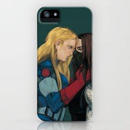 Cap&WinterSoldier(female iPhone Case