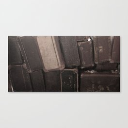 Old Suitcases Canvas Print