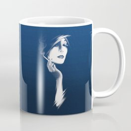 Smoking Hot Woman Coffee Mug