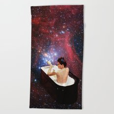 Bubble Bath Beach Towel