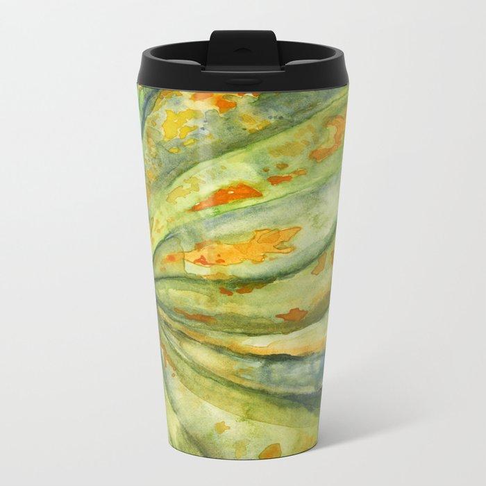 Acorn Squash Metal Travel Mug