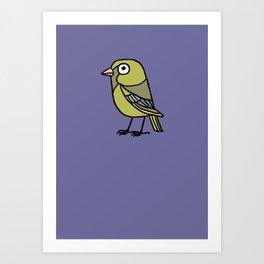 Greenfinch Art Print