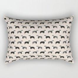 Aussie Dog - australian shepherds Rectangular Pillow