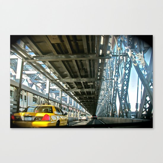 Washington Bridge, NYC Canvas Print