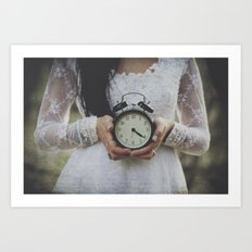 Ticking Art Print