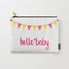 Hello Baby! It's your Birth-Day. Carry-All Pouch