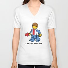 Love One Another Unisex V-Neck
