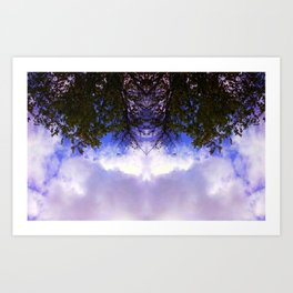 Entwined as One Art Print