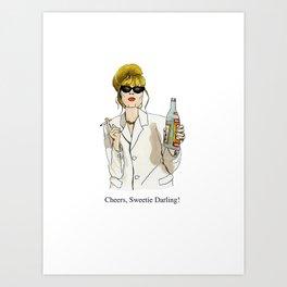 Fabulous Patsy Art Print