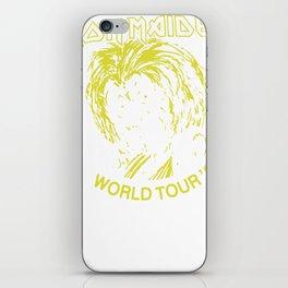 Iron Maiden Killer World Tour 81 iPhone Skin
