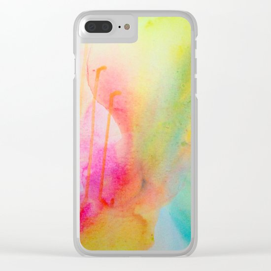 Color Field/Washes I Clear iPhone Case