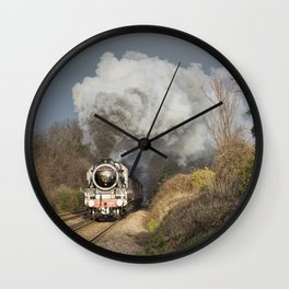 En Route To The Station Wall Clock