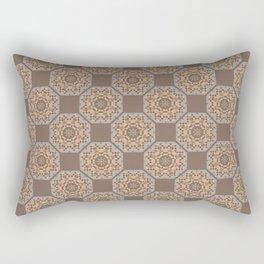 Beach Tiled Pattern Rectangular Pillow
