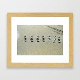 like herding cats Framed Art Print