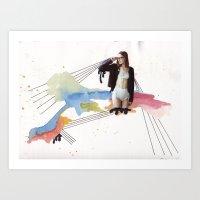 Girl Time No. 7 Art Print