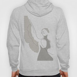 Cream Wings Hoody