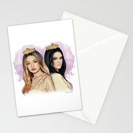 Gigi Hadid & Kendall Jenner Stationery Cards