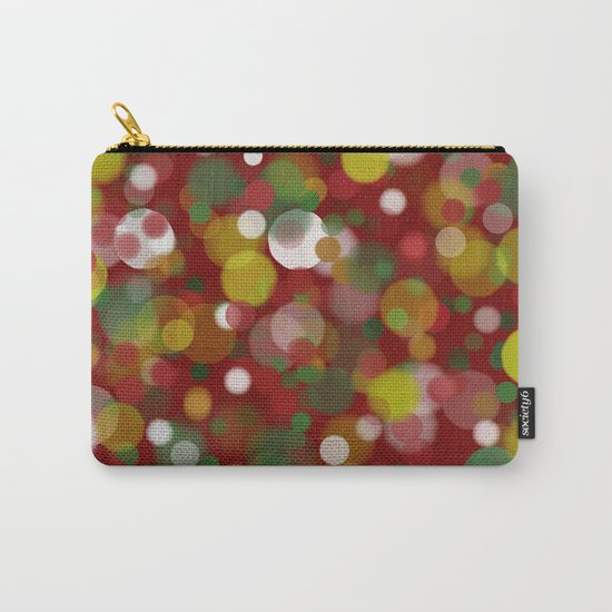 Christmas Bokeh Carry-All Pouch