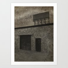 Nothing Left to Sell Art Print