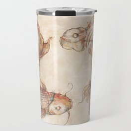 Yin Yang Fish Travel Mug