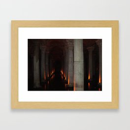 Hallway to Hell Framed Art Print