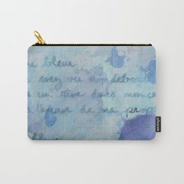 Lune Bleue No. 2 Carry-All Pouch