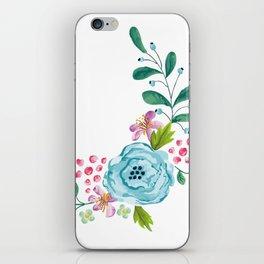 Smiley :) Flowers iPhone Skin