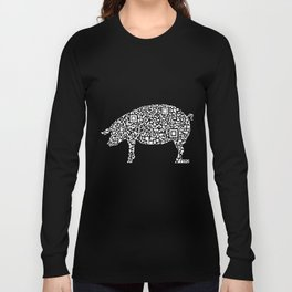 QR PIG Long Sleeve T-shirt